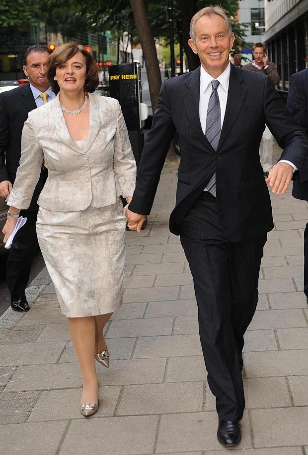 Chérie Blair est une avocate marié à Tony Blair