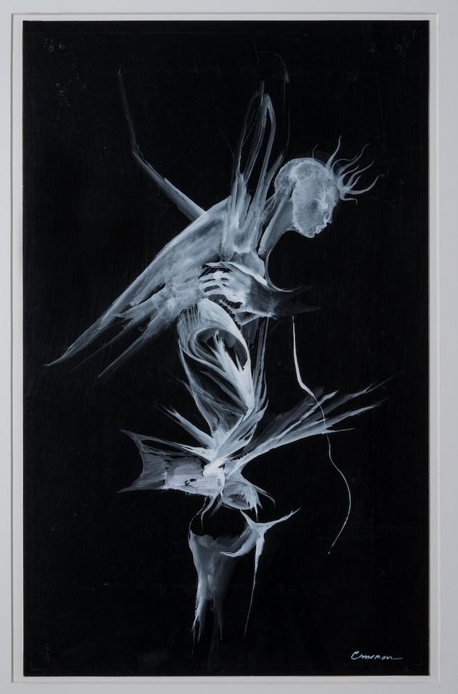 Le <i>fossil Angel</i> de Marjorie Cameron.
