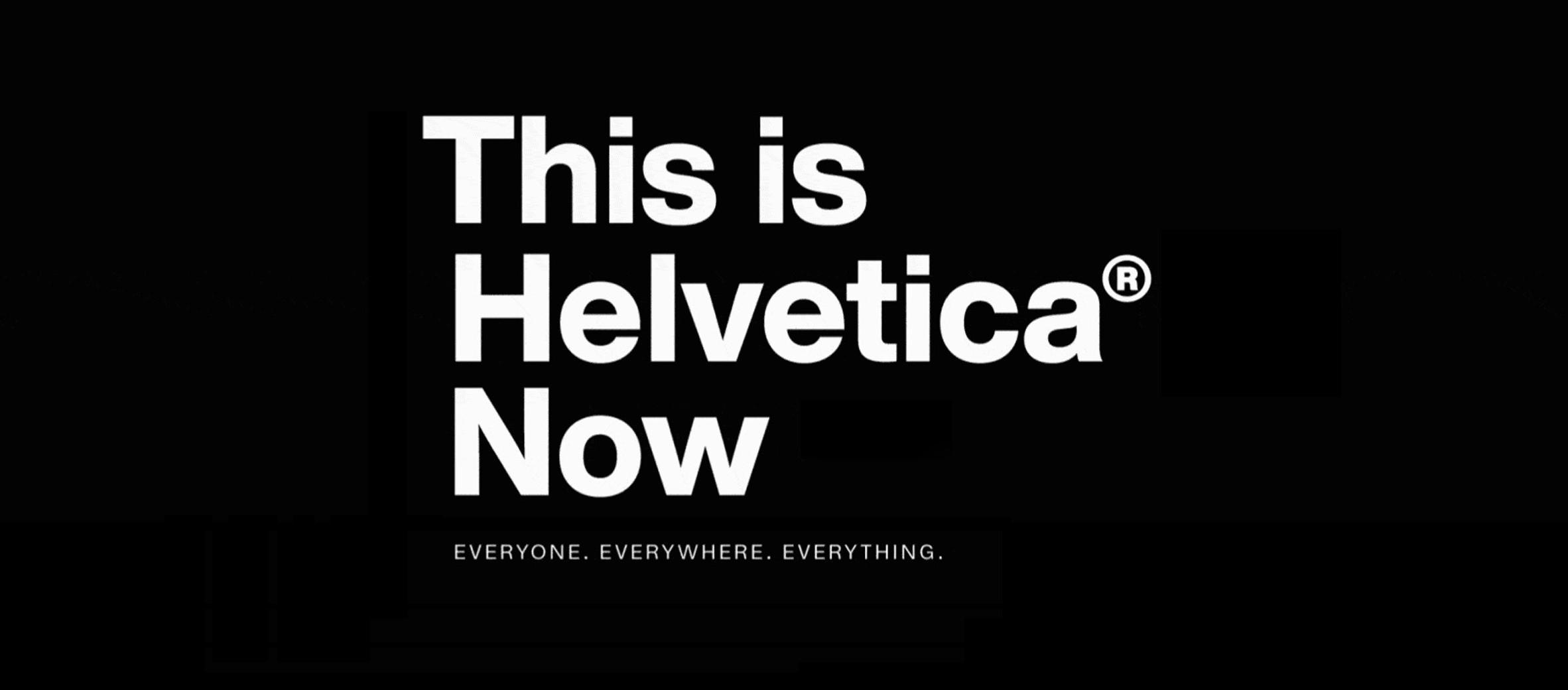 <i>Helvetica Now</i> est l'enième redessin d'un caractère de 1957 depuis surutilisé, l'<i>Helvetica</i>.